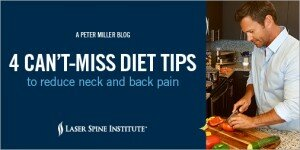 4 can't-miss diet tips to reduce neck and back pain