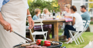 Enjoy summer parties without back pain